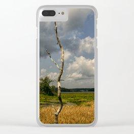 Salt Marsh Clear iPhone Case