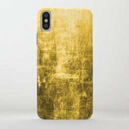 SunYellowTextured & Distressed Design iPhone Case