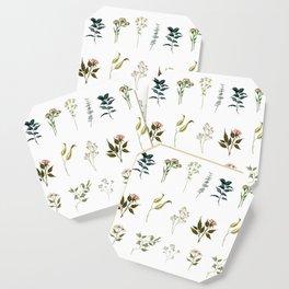 Delicate Floral Pieces Coaster