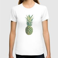 pineapple T-shirts featuring Pineapple by Cassia Beck
