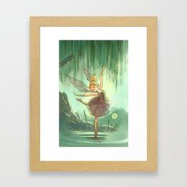 Goblins Drool, Fairies Rule - Willow Sue Framed Art Print