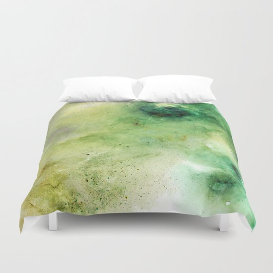 Abstract Galaxies Duvet Cover
