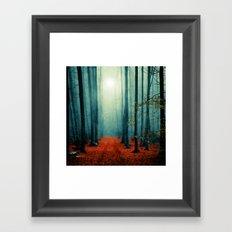 Landscape (colour option) Framed Art Print
