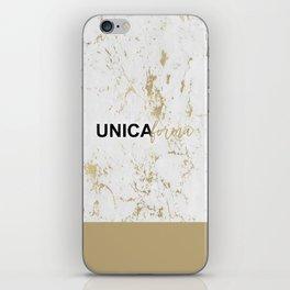 Unica Forma iPhone Skin