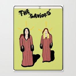 "The ""saviors"" Canvas Print"