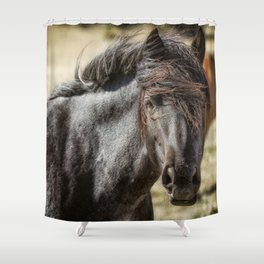 Wild Beauty Shower Curtain