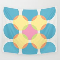 circles Wall Tapestries featuring Circles by LightCircle