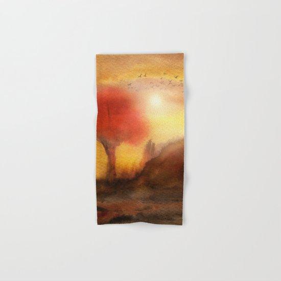 Calling The Sun XIII Hand & Bath Towel