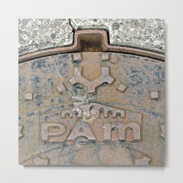 Pam I Am Metal Print