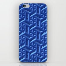 Blue Pattern iPhone & iPod Skin