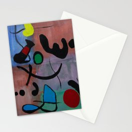 Inspired by Joan Miro Stationery Cards