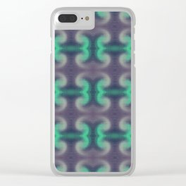 Camouflage Scratches Pattern Clear iPhone Case