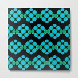 Atoms Metal Print
