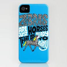 Party Horses Slim Case iPhone (4, 4s)