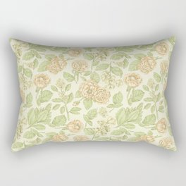 Vintage Blossoms 3 Rectangular Pillow