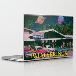 greetings from palm springs Laptop & iPad Skin