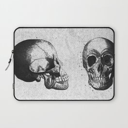 Vintage Medical Engravings of a Human Skull Laptop Sleeve