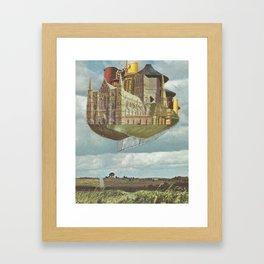 Laputa Framed Art Print