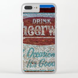 Cheerwine Sign 1 Clear iPhone Case