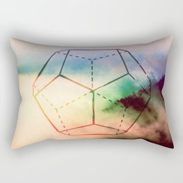 The Elements Geometric Nature Element of Spirit Rectangular Pillow