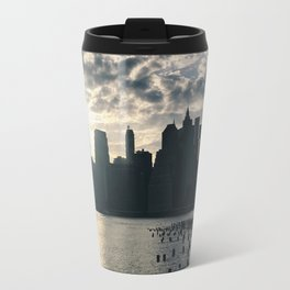 brooklyn views of nyc Travel Mug