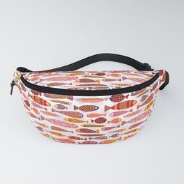 School of tropical fish pattern Fanny Pack