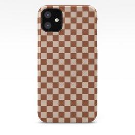 GrannySquare-TreeStem+RollingPin iPhone Case