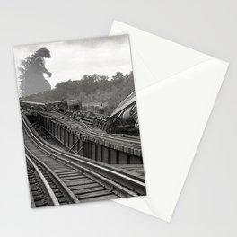 Washington D.C. Anacostia Bridge 1933 Godzilla Encounter Stationery Cards