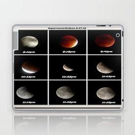 Supermoon & Eclipse -  September 27, 2015 Laptop & iPad Skin
