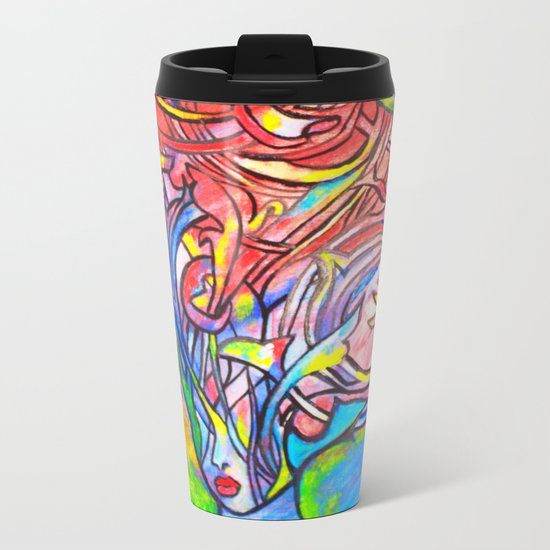We Are Real Metal Travel Mug