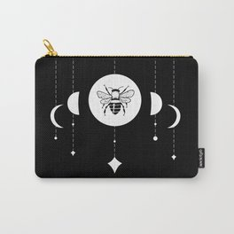 Bee & Moon Phases Carry-All Pouch