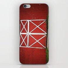 Red Barn Doors iPhone & iPod Skin