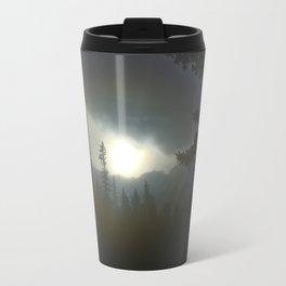 Banff In The Mist Travel Mug