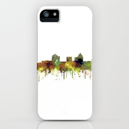 Greensboro NC Skyline SG - Safari Buff iPhone Case