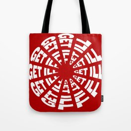 Time to Get Ill Clock - Red Tote Bag