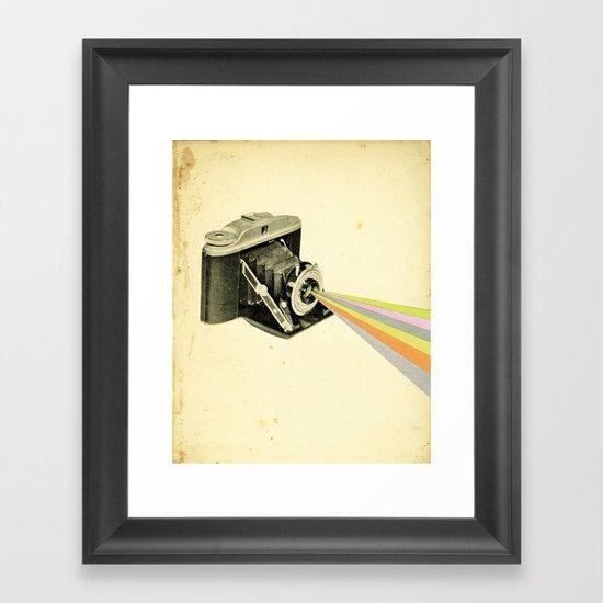 It's a Colourful World Framed Art Print