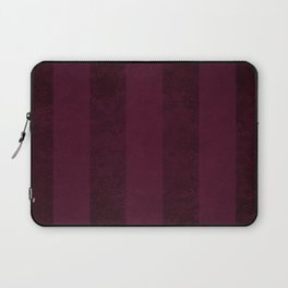 Red Wine Stripes Laptop Sleeve
