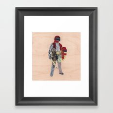 Defender Framed Art Print