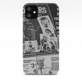 Printable Monsters iPhone Case
