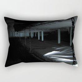 Investigating the USS Hornet Rectangular Pillow