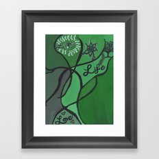 Light, Life, Love Framed Art Print