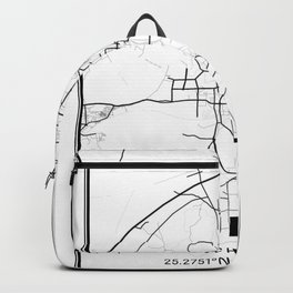 Guilin Light City Map Backpack