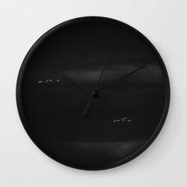 Storm Birds Wall Clock