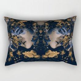 Golden Raven   Baekhyun Rectangular Pillow
