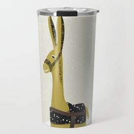 Donkey graphic Travel Mug