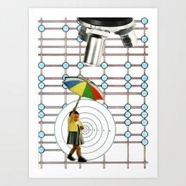 Conforming Future, No Admittance Art Print