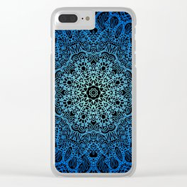 Mehndi Ethnic Style G453 Clear iPhone Case