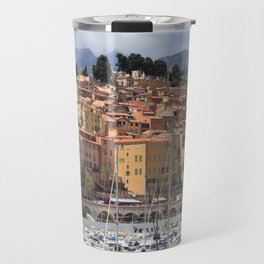 Colors of Menton France Travel Mug