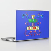 cartoons Laptop & iPad Skins featuring it works in cartoons by thev clothing
