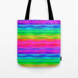 Rainbow Haze Tote Bag